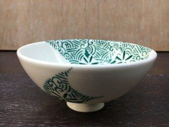 ご飯茶碗 グリーンの画像