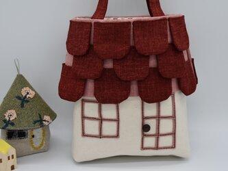 houseBag (greenBrown)の画像