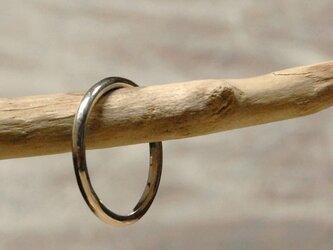 ピカピカ シルバープレーンリング 1.8mm幅 鏡面 シルバー950 シルバーリング 指輪 シンプル ハンドメイド 118の画像