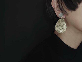 送料無料 puzzle/earring―瓢箪と駒―の画像