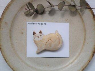 ネコのブローチ 6の画像