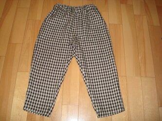 リネン「ゆったり*七分パンツ」の画像