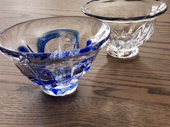 和器 /ガラス皿/ガラスボール皿/スウィーツの画像