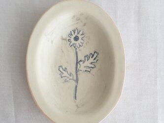 リム小皿(グレー)の画像