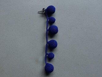TubuTubu ブルー(片耳)※ 受注生産の画像