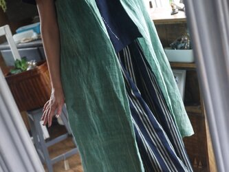 綿カヤのロングジレの画像