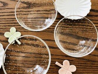 透明泡器③ /サラダボール/ミニボールの画像