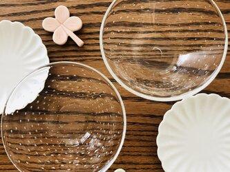 透明泡器⑥⑦ /サラダボール/ミニボールの画像