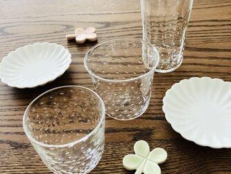 透明泡グラス⑧⑨⑩/グラスの画像