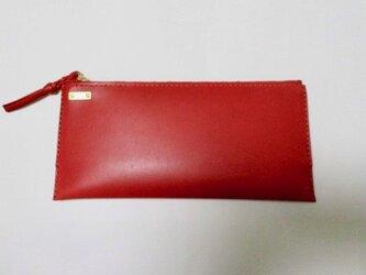 N様オーダー専用ページ new セカンド財布ポーチ(赤)の画像