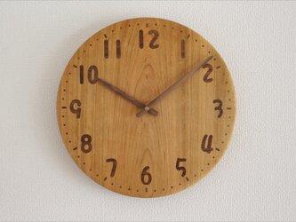 象嵌サクラの時計 直径30㎝ 受注製作2か月待ちの画像