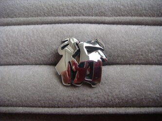 『いのり』ピンブローチの画像