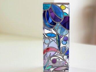 スクエアガラス花瓶『ティンカーベル』の画像
