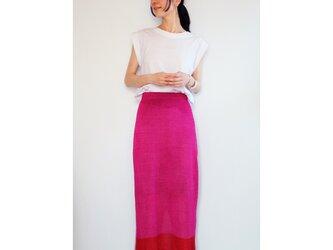◆即納◆Sualocin[スアロキン] ナロー・スカート2 / ピンク系1 / Mサイズの画像