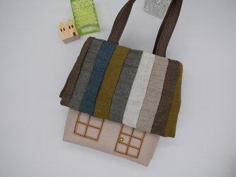 houseBag (リネン Brown)の画像
