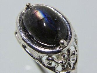 ラブラドライト Labradorite Ringの画像