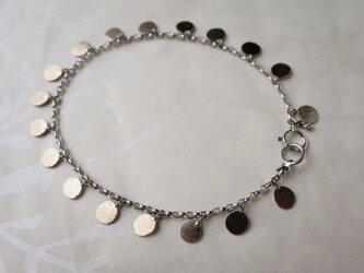 K18WG Medal Braceletの画像