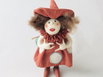Magie (見習い魔女)  /  フェルト人形の画像