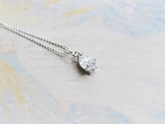 Only One!Water spiritual SV925 Necklace -8-/ハーキマーダイヤモンドの画像
