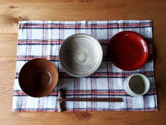 3枚組みお食事敷物(ランチョンマット)の画像