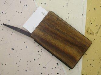 木製名刺入れ  久遠の画像