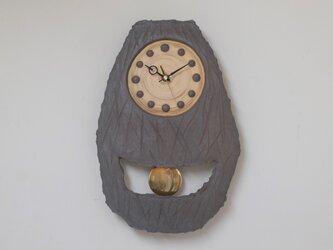 炭化振子時計6の画像