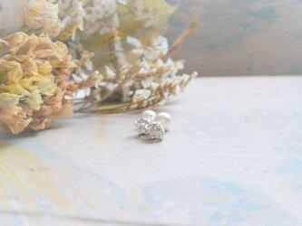 Only One!Water Spiritual SV925 Pieacing-77-/ハーキマーダイヤモンド/パールキャッチの画像