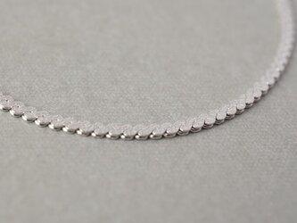 【Silver925】デザインチェーンブレスレットB【シルバー】の画像