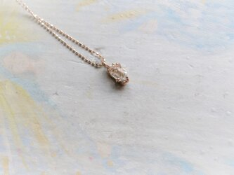 Only One!Water spiritual K10PG Necklace-9-/ハーキマーダイヤモンドの画像