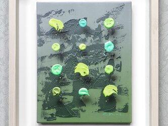 浮遊する筆触 【Layer 19126】 25 x 20cm キャンバスの画像