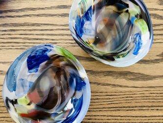 彩美器 ②/ガラス皿/ガラス器の画像