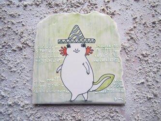 タイルの動物図鑑 メキシコサンショウウオの画像