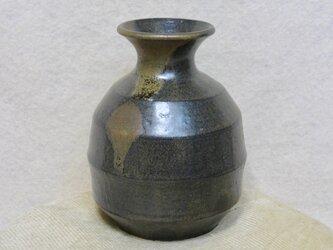 陶器徳利 麺つゆ・酒用 黒【190701】の画像