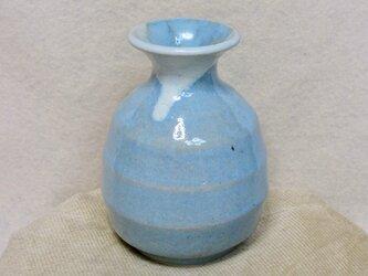 陶器徳利 麺つゆ・酒用 トルコ釉【190702】の画像