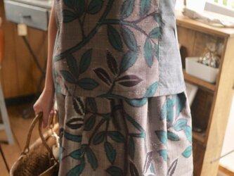 正絹紬2種のセットアップの画像