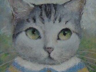 サバ・ストライプ/ブルーとイエローの画像