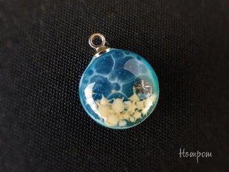 【送料無料】19n015 小さな海のネックレス ホムポムの画像