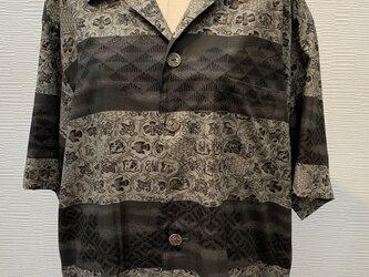 アロハシャツ(着物リメイク)の画像