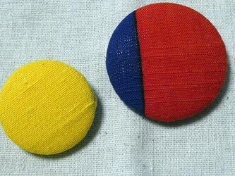 着物帯シリーズブローチ2個セット Aの画像