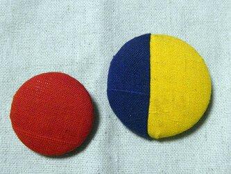 着物帯シリーズブローチ2個セット Bの画像