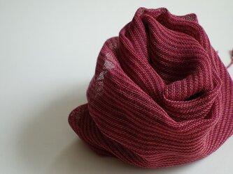 手織りしましまストール・・ベガの画像