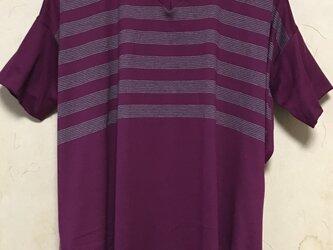 ローズピンクビックTシャツの画像