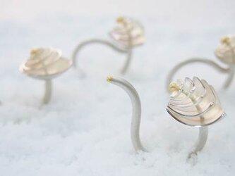 【S.S様リフォーム用】インディゴライトトルマリン指輪の画像