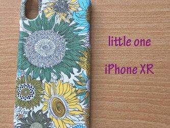 【リバティ生地】スモールスザンナイエロー  iPhoneXRの画像