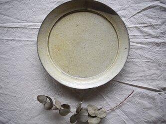 {粉引} プレート皿の画像