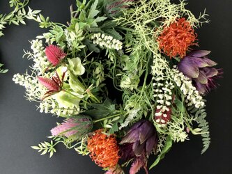 Wild flower wreathの画像