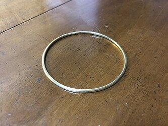 【受注生産】真鍮のバングル リング02 HTの画像