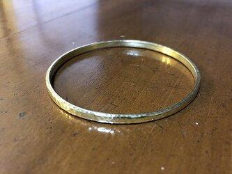 【受注生産】真鍮のバングル リング04 HTの画像