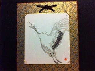 平和へ羽ばたく鶴の画像