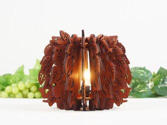 「森のくつろぎ」木製フロアランプの画像
